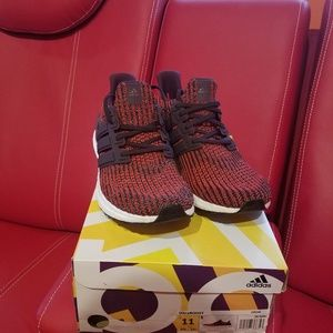 Mens Adidas Ultraboost Noble red